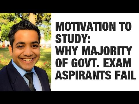 (Hindi) Motivation to Study: Why majority of Govt. Exam aspirants fail (UPSC/SSC/Bank) - Roman Saini