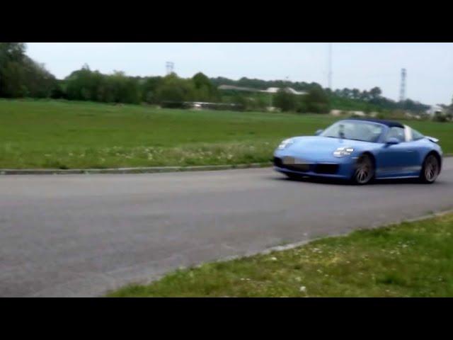 Mee in een Porsche Targa: Sander krijgt die glimlach niet meer van zijn gezicht - Dikke Bakken (1)
