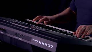 Yamaha PSR-A3000 Arranger Workstation Keyboard Performance