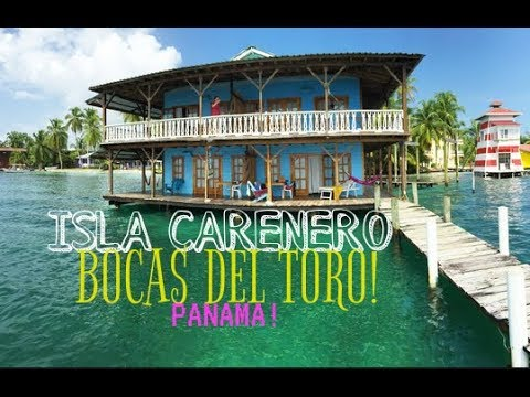 ISLA CARENERO ISLAND   BOCAS DEL TORO, PANAMA