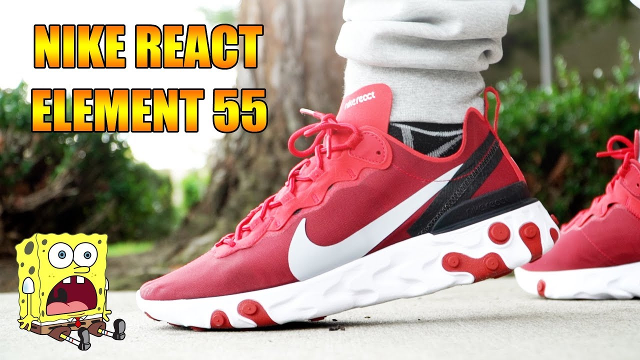 new high quality reputable site fashion NIKE REACT ELEMENT 55 REVIEW + ON FEET!!!