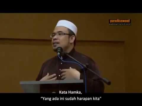 Dr Asri - La Tahzan Jangan Bersedih Innallaha Ma'ana
