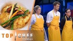 Verkostung des Gemüse Risottos: Wer muss die Show verlassen? | Top Chef Germany | SAT.1