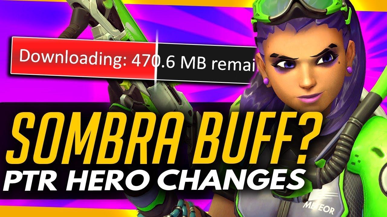 online te koop grote korting grote verkoop Overwatch | SOMBRA BUFF + Mei FREEZE BUFF & More [ PTR Buffs & Nerfs ]