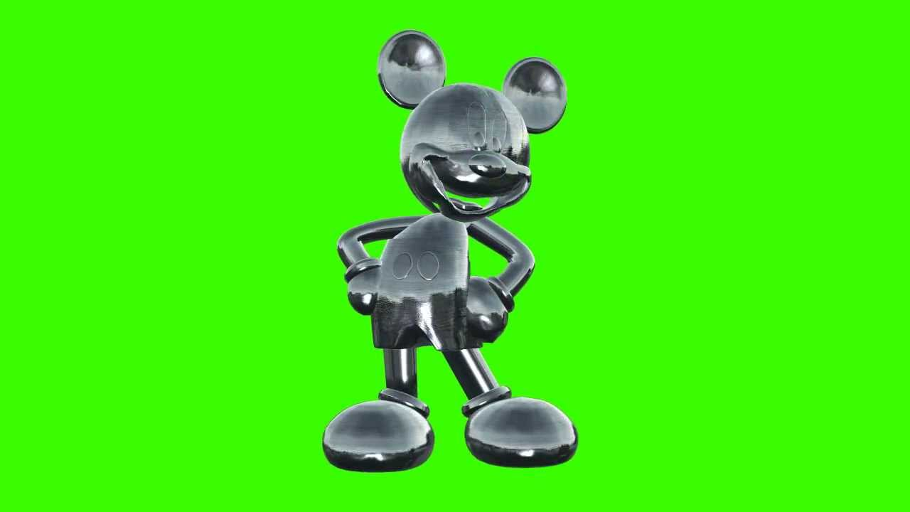 mickey mouse in green screen free stock footage - YouTube