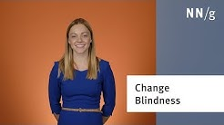 Change Blindness in User Interfaces