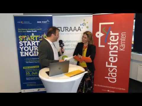 DI Vera Led | Geschäftsführerin der UNiQUARE Software Development GmbH | lanmedia Business Talk