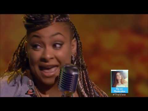 Raven Symone Sings on The View Karaoke   LIVE 5 25 16