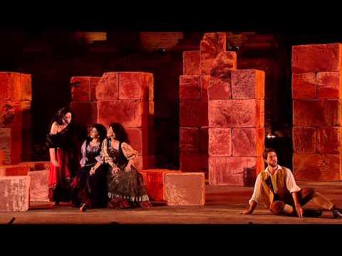 Georges Bizet: Carmen, Act II - Elena Maximova, Myron Michailidis (Taormina Festival 2015)