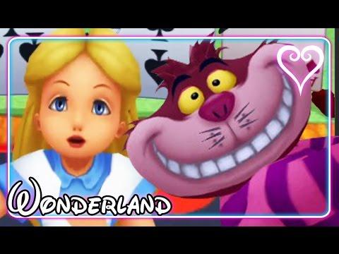 Kingdom Hearts All Cutscenes | Game Movie | Alice ~ Wonderland