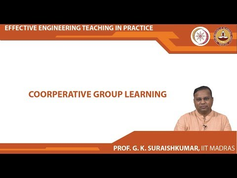 Lecture 07 - Cooperative Group Learning