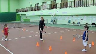 Большой теннис. Школа мяча. Видеоурок.