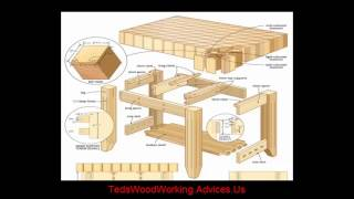 Furniture Plans - Wood Furniture Plans | Woodshop Plans