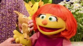 Meet Sesame Street's muppet with autism