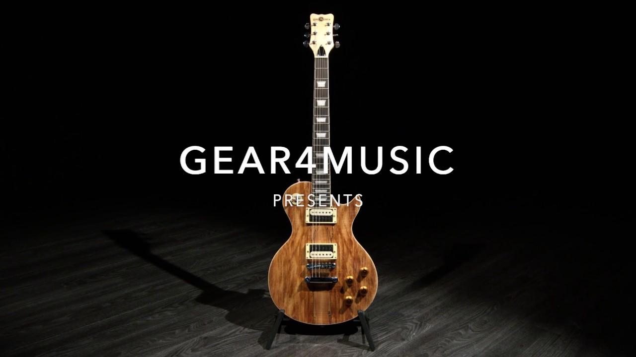 lenkkarit halpaa poistomyynti suositut kaupat New Jersey Electric Guitar by Gear4music | Gear4music demo
