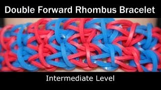 Rainbow Loom® Double Forward Rhombus Bracelet