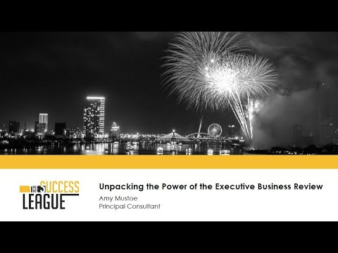 Unpacking the Power of the Executive Business Review