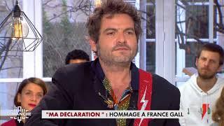 Matthieu Chedid, l'hommage à France Gall - Clique Dimanche du 14/01- CANAL+