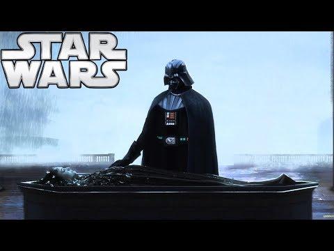 How Vader Secretly Visited Padmés Grave  Star Wars Explained