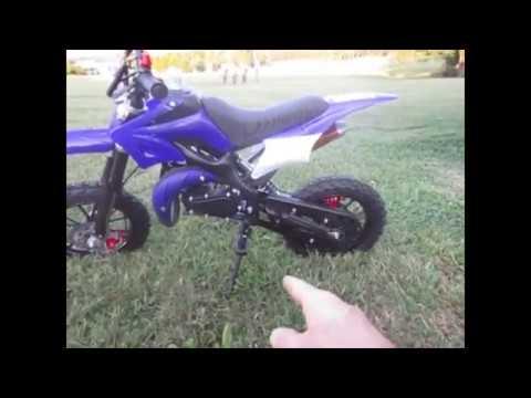 Syx Moto Mini Dirt Bike 50cc Review
