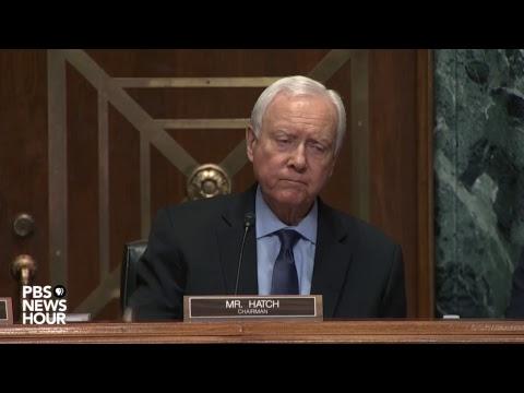 WATCH: Treasury Secy. Mnuchin testifies before Senate Finance Cmte.