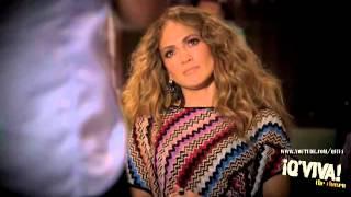 "Ektor Rivera & Jennifer Lopez - ""QViva the Chosen"" Audition"