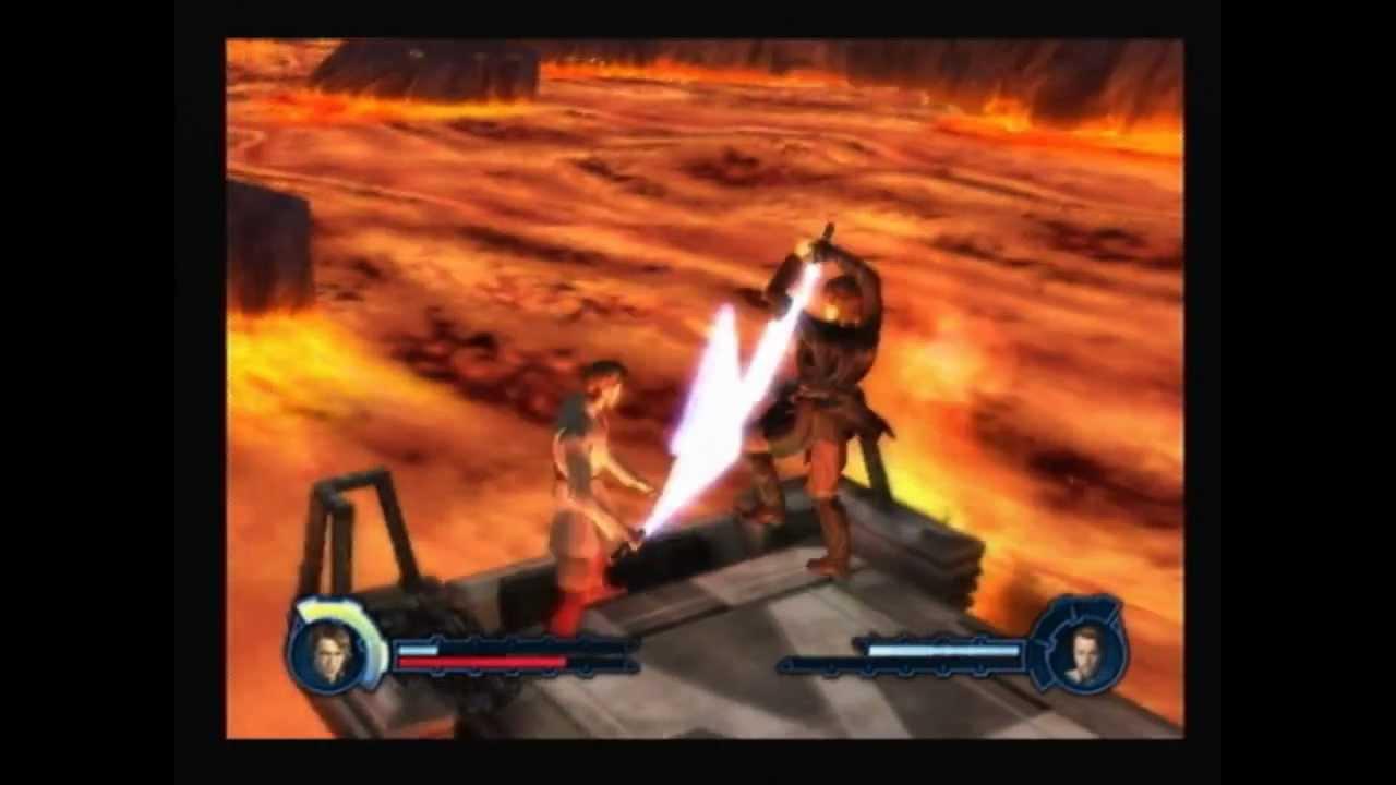 Star Wars Revenge Of The Sith Ps2 Walkthrough Revenge Of The Sith Alternate Ending Youtube