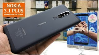 NOKIA 3.1 PLUS UNBOXING REVIEW AND PRICE
