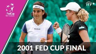 Kim Clijsters v Arantxa Sanchez Vicario | 2001 Fed Cup Final | Full Match