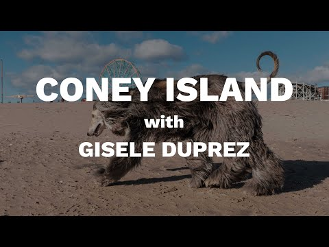 Coney Island Street Photography with Gisele Duprez