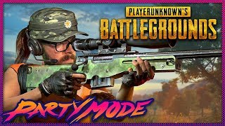 How Many Kills Will We Get in PUBG? - Party Mode