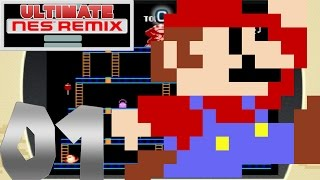 Ultimate NES Remix (1080p) - Part 1: Donkey Kong!