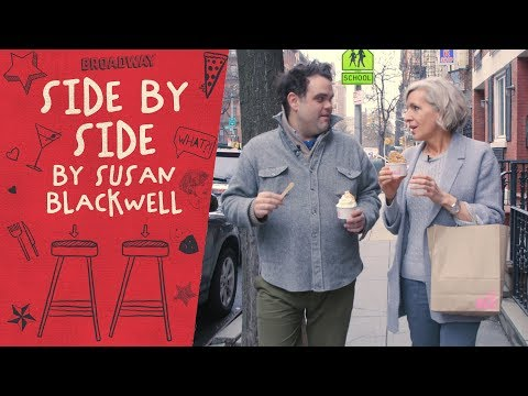 SIDE BY SIDE BY SUSAN BLACKWELL: Greg Hildreth of FROZEN