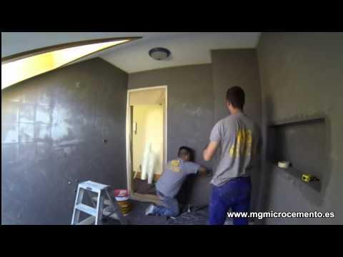 C mo colocar malla builtex en paredes doovi - Como colocar microcemento ...
