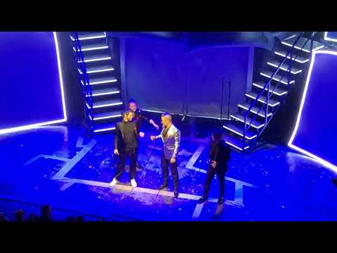 Take That (featuring Robbie Williams) - The Flood - Haymarket Theatre - 04/12/18