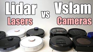 Lidar vs Vslam (cameras vs las…