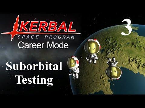 Kerbal Space Program Career 03 - Suborbital Testing