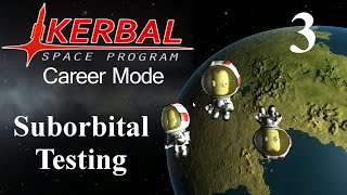 Kerbal Space Program Career 03 - Suborbital Testing