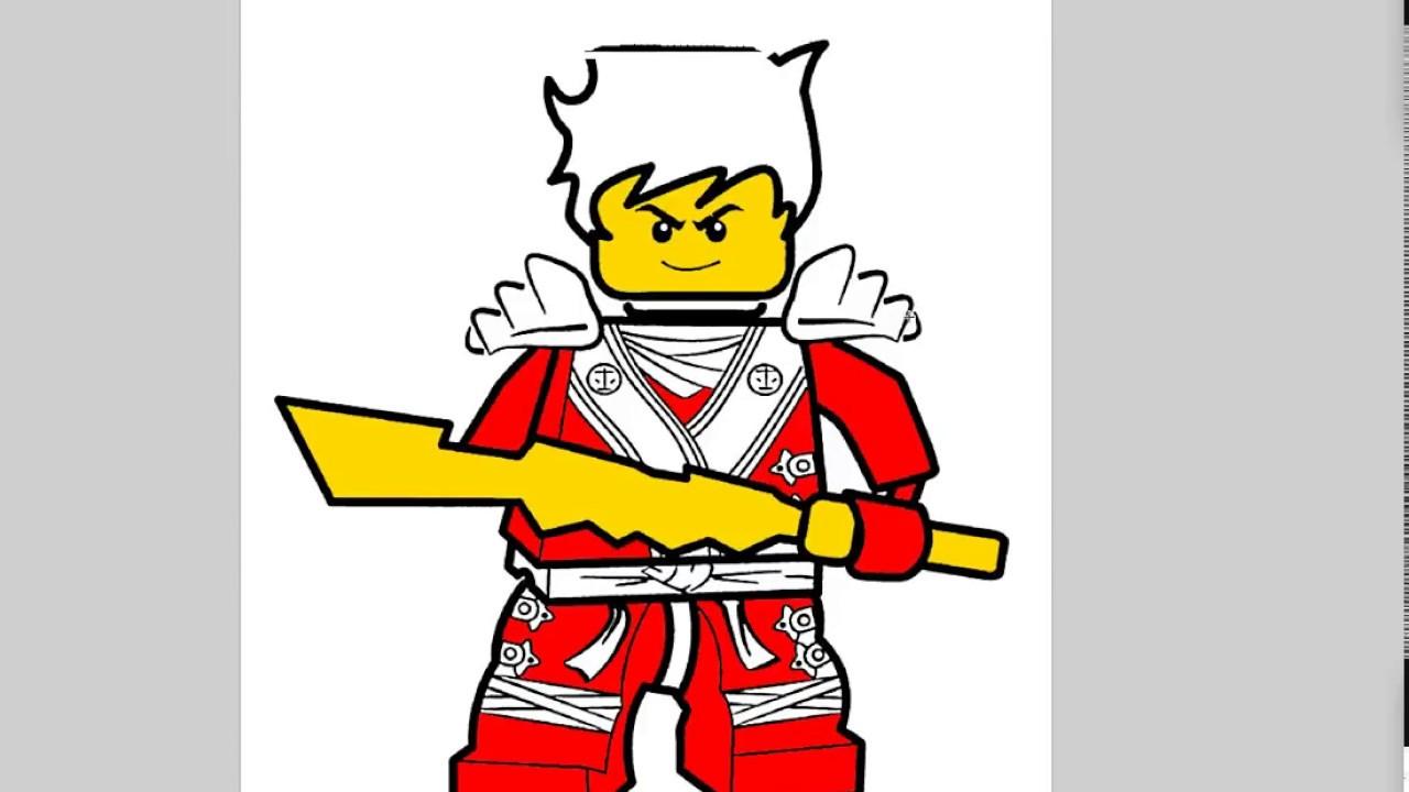 Лего ниндзяго кай картинки рисунки