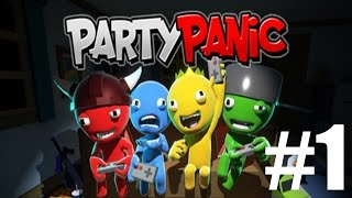 The FGN Crew Plays: Party Panic #1 - Lobby Beat Down (PC)