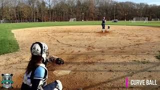 Jackie Paglieri NCAA Softball Skills Video 2023 Graduating Class SB SS Pitcher OF