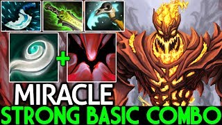 Miracle- [Shadow Fiend] Super Strong with Basic Combo Build 7.21 Dota 2