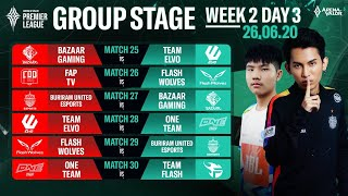 Group Stage APL 2020 | Week 2 Day 3