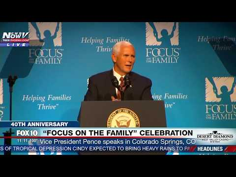 """MUST WATCH: Pence Talks Abortion & Defunding Planned Parenthood, Says """"Life is Winning"""" in America"""