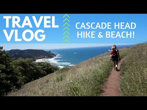 Cascade Head Hike, Lincoln City OR | Travel Vlog