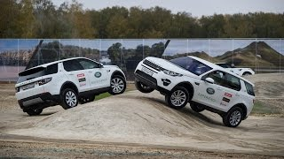 Тест-драйв Jaguar Land Rover Experience