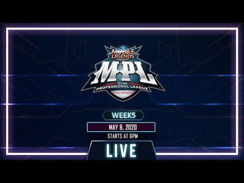 LIVE: Mobile Legends: Bang Bang Professional League-Philippines Season 5 | May 8, 2020 thumbnail