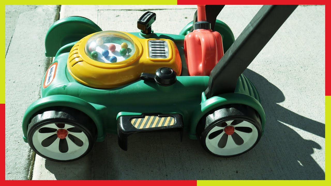 toy lawn mower little tikes backyard play with gas u0027n go mower 2