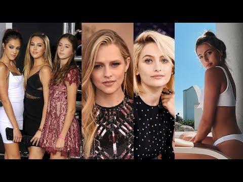Hollywoood 10 Celebrities Daughters 2018  Actresses Kids  Cute Sistine Rose