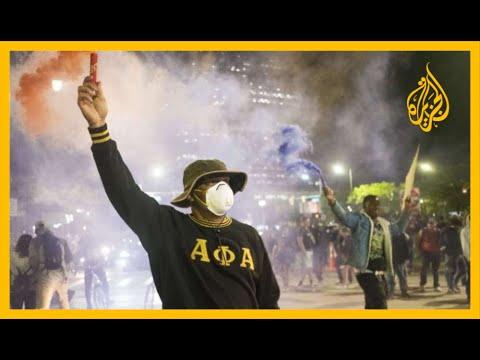 🇺🇸 تصاعد الاحتجاجات في أمريكا.. فرض حظر التجوال في 40 ولاية، وترمب يأمر بنشر قوات الحرس الوطني